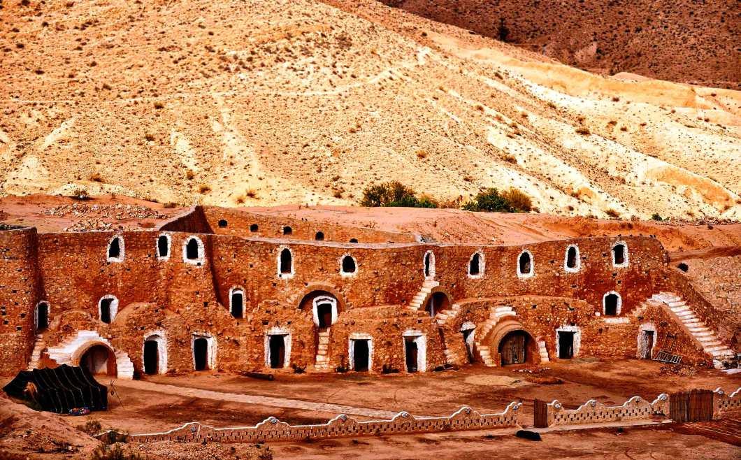 Матмата - фото. Тунис